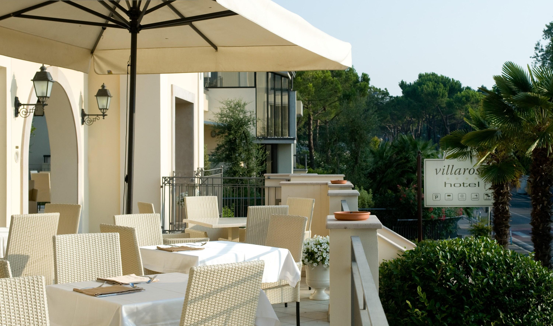 Villa Rosa Hotel, Desenzano, Lake Garda, Italy - front terrace.JPG